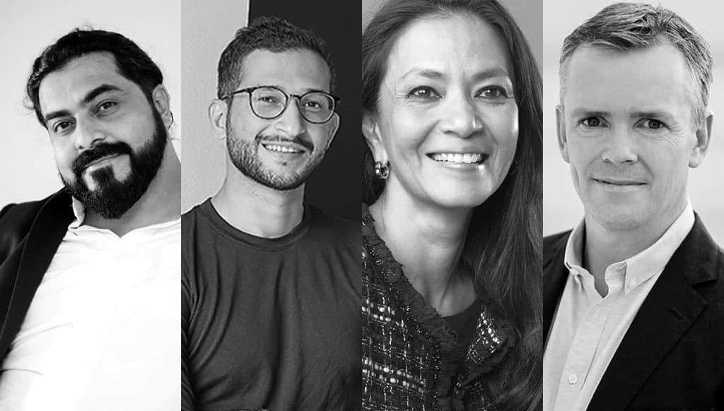 Anish Daryani, Kabeer Chaudhury, Lara Hussein, Richard Morewood